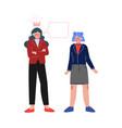 school girl bullying her classmate teenage vector image vector image