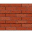 Seamless brick pattern vector image vector image
