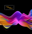 wave liquid abstract background with fluid shapes