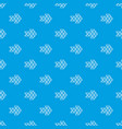 white triangle arrow pattern seamless blue vector image
