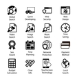 Seo Icons Vol 3 vector image