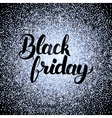 Black Friday Silver Design vector image vector image