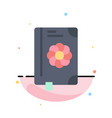 book flower text spring abstract flat color icon vector image