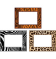 collection of African framework vector image vector image