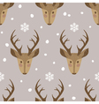 deer background vector image vector image