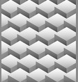 grayscale repeatable pattern made of isometric vector image
