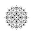 mandala circular pattern decorative vector image vector image