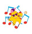 Star Singer vector image