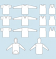T-shirt sweatshirt and tank top templates vector | Price: 1 Credit (USD $1)