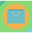 Shopping Bag Icon - vector image