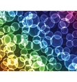 bubble pattern background vector image
