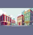 cartoon historic urban vector image