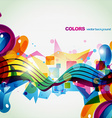 colorful celebration vector image vector image