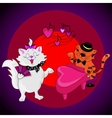 Love Cats Sing vector image vector image