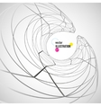 abstract white and black background vector image vector image