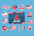 fourth july independence vector image vector image