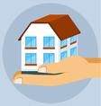 Icon hone insurance flat style vector image