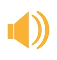 SPeaker icon design vector image