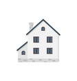 suburban private house houses exterior vector image vector image