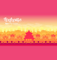 top rated tourist attractions vector image