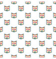 veterans day pattern seamless vector image vector image