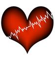 cardiac infarction vector image