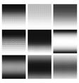 halftone gradient halftone dots graphic digital vector image vector image