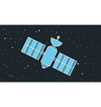 Modern Cosmos Satellite vector image
