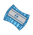 pencil sharpener isolated vector image