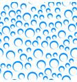 random bubbles seamless pattern - contour circles