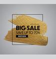sale banner design special offer background vector image vector image