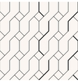 Abstract braid minimalistic black and beige vector image
