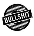 Bullshit rubber stamp vector image vector image