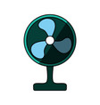 floor fan symbol vector image