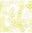 seamless square background pattern - from squares vector image vector image