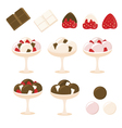 Set of Ice creams vector image vector image
