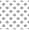 suitcase corruption money pattern seamless vector image vector image