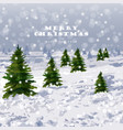 winter snowing background graphic style vector image