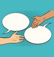 contract handshake meeting vector image