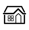 house line icon image vector image