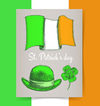 Sketch Irish poster vector image vector image