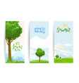 summer banners set vector image