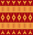 tribal ornament seamless african pattern vector image vector image