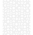 white puzzle seamless vector image vector image