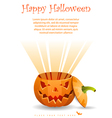 Greeting Card Halloween vector image vector image