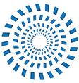 Rotating circles vector image vector image
