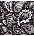 Seamless Abstract Floral Pattern with Paisley vector image vector image