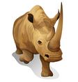 A hippopotamus vector image vector image