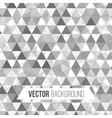 Abstract geometric background with triangles vector image vector image