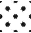 barrel on legs pattern seamless black vector image vector image